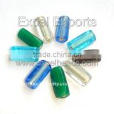 Tube shaped Glass Beads