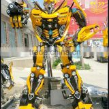 Transformers Optimus Prime Bumblebee robot movie characters FRP sculpture