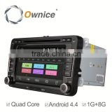 Ownice C180 Android system car Stereo for volkswagen passat B5 golf polo support GPS Ipod DVR digital TV 3G Wifi