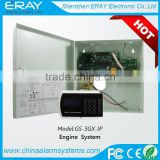 gsm+pstn+ip module engine start stop button system adopt adecom4+2 protocol