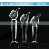 Beautiful Crystal Trophy for Decoration