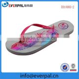 Personalized coloured sublimation printing Flip Flops Slippers,Sandals
