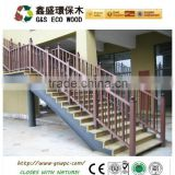 An-ti corrosion outdoor waterproof wpc fence / wpc railing