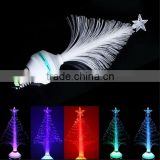 New design LED RGB Fiber Optical Stage Light / bulb decor light / Christmas Tree bulb light