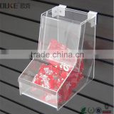 custom design wall haging cheap clear acrylic candy box