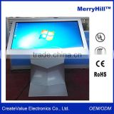 "Modern Kiosk Stand Design 42"" 46"" 55"" 65 inch LCD TV Touch Screen Advertising All In One PC"