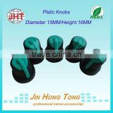 Wholesale directly from factory plastic drawer side potentiometer knob,color knobs, Audio Parts