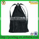 Quick drying mesh swimming bag drawstring swimming bag