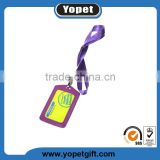 Wholesale cheap id card polyester custom printed lanyards with logo for card holder or badge holder no minimum order