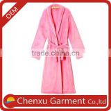 plus size long winter dressing gowns ladies pyjamas and sleepwear women s soft coral warm fleece sleep dress for women