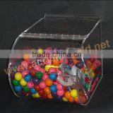 hot sale custom Acrylic Candy box /candy bin candy display/ bulk candy display for all over the world