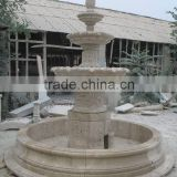 outdoor marble fountain
