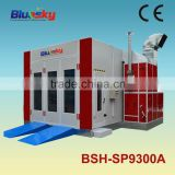 CE approved china supplier spray booth extraction fan/inflatable spray booth/car spray booth oven