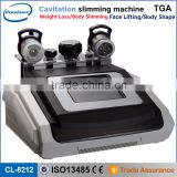Cellulite Reduction Vacuum Cavitation System Type And Supersonic Operation Rf Slimming Machine System Cavitation And Ultrsonic Weight Loss Beauty Machine Wrinkle Removal