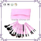 23pcs wool hair makeup tools long lasting goat hair makeup cosmetic brush set