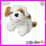 D797 Electric Animal Dog Stuffed Toy Barking Plush Dog with PDQ