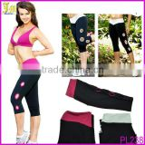 Hot Summer Women Tights Yoga Running Leggings High Waist Cropped Short Leggings Pants Render Pants With Hole Design