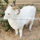 Realistic Taxidermy Replica life sized plastic animals sheep