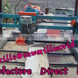 Wood Double Saw Blade electric portable sawmill from shandong in china