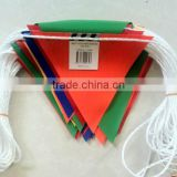 Christmas Plastic Triangle Flag Bunting