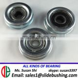 furniture caster wheels bearing size heavy duty trolley wheels steel sliding roller track for rack system manufacturer
