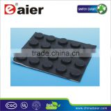 black self adhesive rubber feet bumper