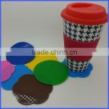 Silicone saucers