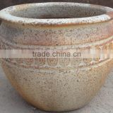 Ocean Style Collection of Sandblast Old Atlantic Planters
