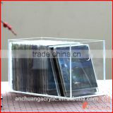 Acrylic cd/dvd/book box/display/storagre
