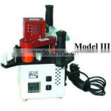 Portable Edge Banding Machine Model III with Hot melt adhesive pot volume 160ml and Pre-heating time about 10 Min