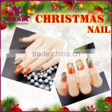 2017 New design Christmas fake nails nail art design