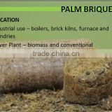 high calories biomass briquette