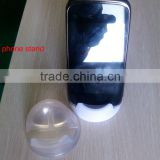 clear plastic phone holder
