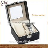 PU wholesale empty watch storage box case