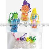 wholesale 5cm animal plastic sand bottle toy