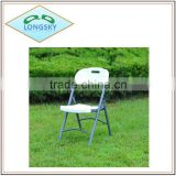 outdoor blow mould folding chair,colourful folding chair for wedding use