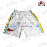 High quality basketball shorts fashion basketball wear basketball pants 100%polyester sublimation