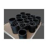 Black Graphite Filled PTFE Teflon Tube For Hydrochloric Acid Heat Exchanger