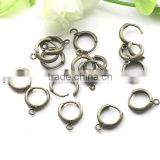 Antique Bronze Earring Clasp Hooks Earring Wires Rings For Jewelry Diy