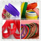 printing silicone rubber band/Custom logo printing silicone rubber band/printing silicone rubber band wholesale
