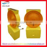 UK style Solor Warning Light/Traffic Rotating Warning Light/solar powered traffic warning lights