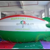 Best Quality 0.18mm PVC Inflatable Helium Zeppelin Balloon Advertising Airplane Blimp For Sale