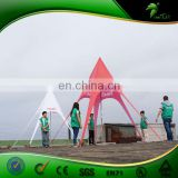 Luxury Red Star Shade Event Tent ,Star Shelter Tent
