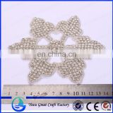 Sell hot white bridal accessories clothing snowflakes accessories wedding claw drilling beaded Brides take snow accessories