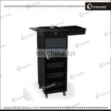 Lockable plastic beauty salon rolling cart accepted paypal