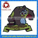 cartoon garment woven patches/badges for children