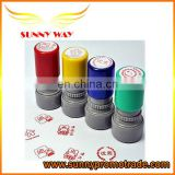 roller plastic stamps for promotion gifts