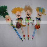 toy pen, cartoon pen, wooden toys