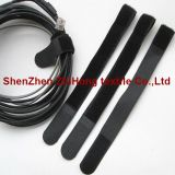 Ultrasonic voltage nylon hook loop cable tie tape