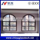 Modern House Plan Aluminium Casement Window Arched Round Window for Balcony Window Design